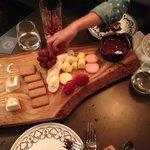 Chocolate Fondue with Homemade Marshmellows - YUM!