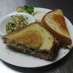 Our Reuben and Jalapeno Slaw