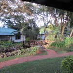 A beautiful view from our veranda