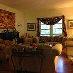 Sitting room in the inn