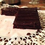 Store bought chocolate brownies in the inn