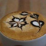 Philimonius mocha latte art