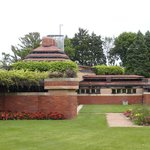 Striking architecture by Frank Lloyd Wright