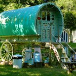 Teal the famous Gypsy Caravan