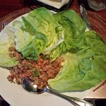 Lettuce wraps!  Wonderful!