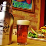 Growlers of your favorite beer to go!