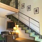 Moncada Suite loft stairs