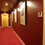 Corridor - our room, 430, is the last yellow door