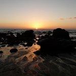 Sunset at Playa del Ingles