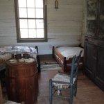 Inside slaves quarters