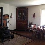Summer kitchen inside McLean House