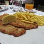 Wiener schnitzel - good choice