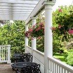 Claramount Inn's breakfast verandah