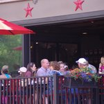 Our outdoor dining patio is open!