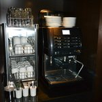 Self-service Coffee machine at the Renaissance Lucerne