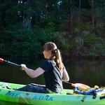 Enjoying Kayaking