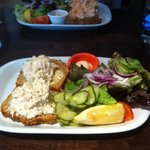 Crab Open Sandwich