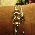 My new fisherman knot bracelet from eden hand arts