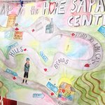 Map to Hope Center from Sapa Backpackers....