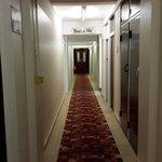 Pasillo de ingreso a la habitacion