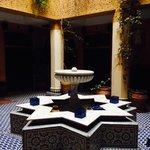 Interno dell'hotel: il Riad