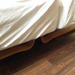 Кровати в номере - если хотите одну большую, то не соглашайтесь на две маленькие вместе