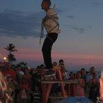 Sunset Celebration performer