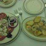Broiled Shrimp Appetizer & Lump Crabmeat Entree Salad