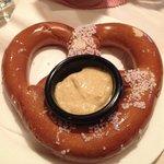 pretzel appetizer