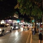 duval street at night.