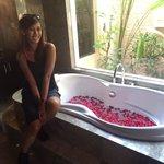 Honeymoon bathtub! So nice!  Abil&adah