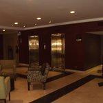Lobby area/elevators
