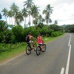 Biking the Hibiscus Hwy