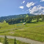 View of the Ski Hill in the Summer