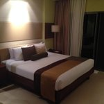 Bedroom in Pool Access Room