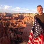 Bryce Canyon at sunrise July 4th