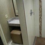 Separate Vanity in Bathroom