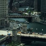 View from my room on the Chicago River side