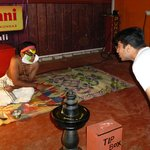 Interaction with the Kathakali Dancer