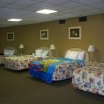 4 bed suite