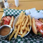 Lobster roll lunch - all lobster, no filler