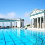 Grecian inspired pool