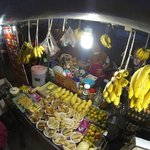 night market on 5 min. walking distance from hotel