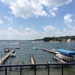 View of West Lake Okoboji from my room