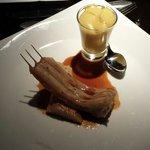 Fish and smoky mash