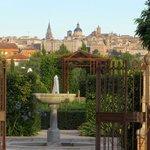 Garden view of Toledo