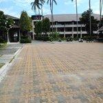 парковка на территории отеля