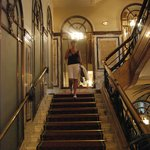 лестница Hotel Bristol Vienna
