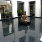 One of the many features continuing the tranquil feel of the hotel