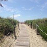 дорожка к пляжу